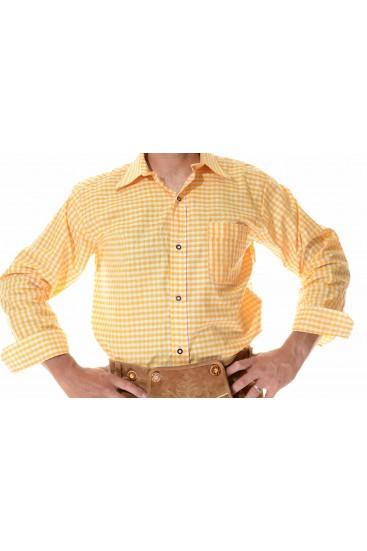 Lederhosen Shirt Yellow