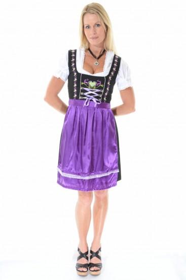 Dirndl Louisa purple