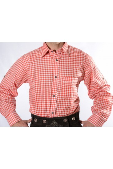Lederhosen Shirt Red