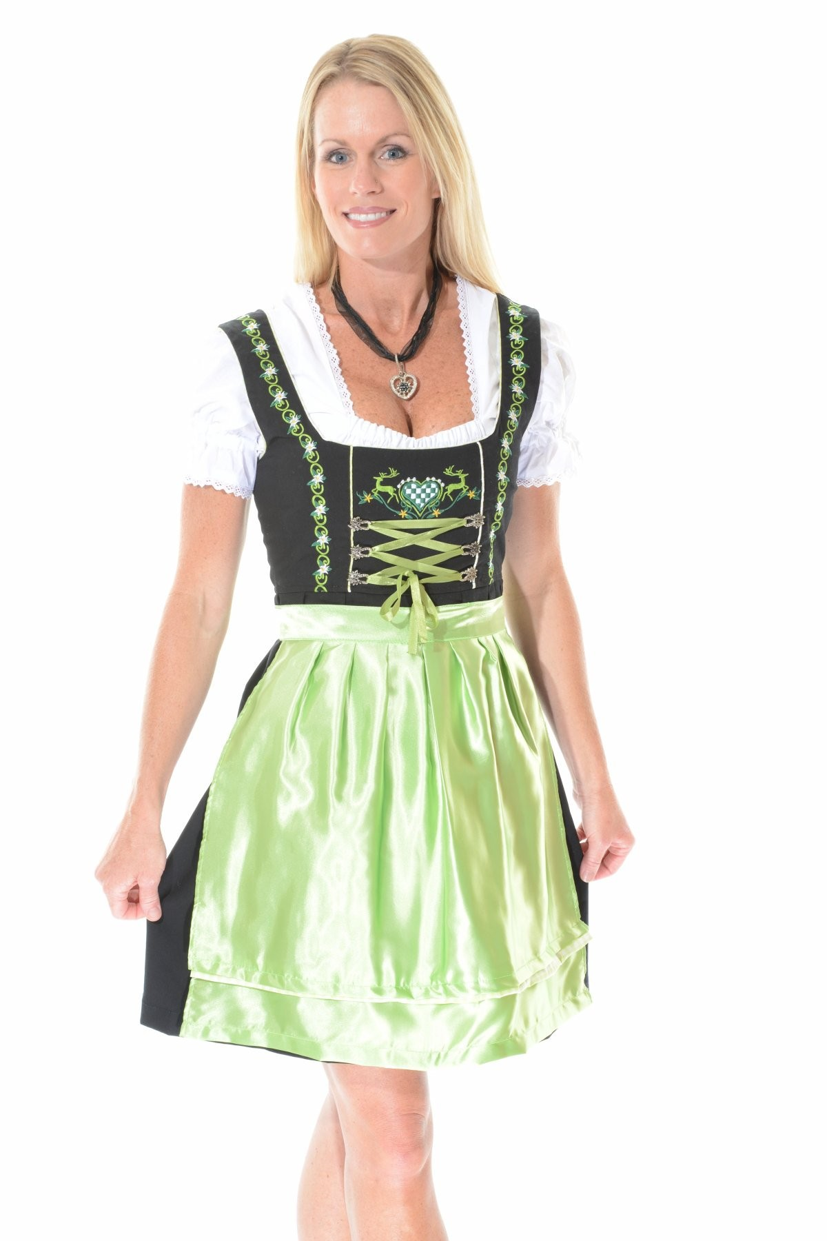 how to make traditional german dress