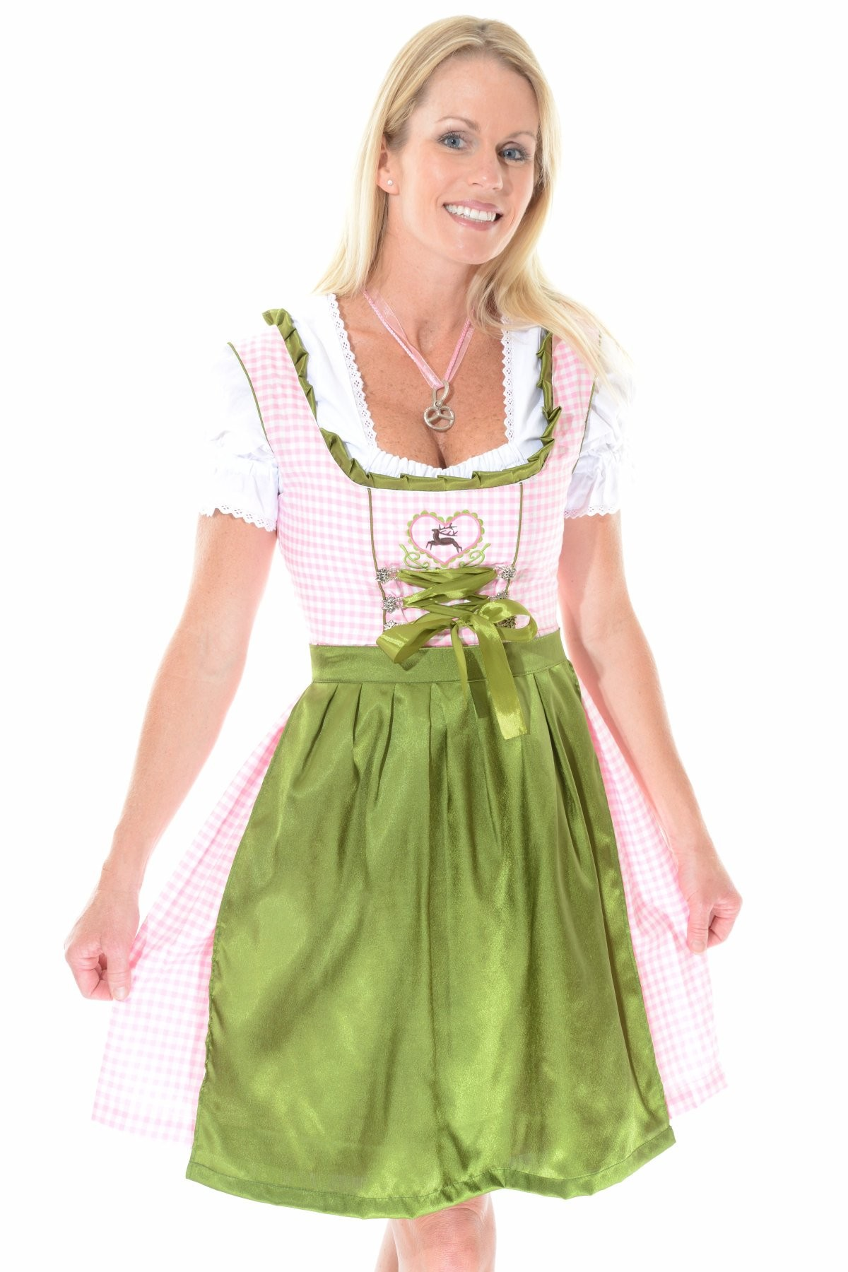 Gretel dirndl costume with kerchief images frompo for Dirndl fa r mollige