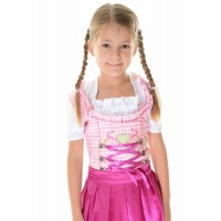 2 pc Kids Dirndl Pink
