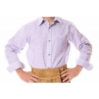 Lederhosen Shirt Purple