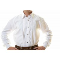 Lederhosen Shirt White