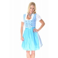 Oktoberfest Dirndl blue