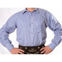 Lederhosen Shirt Blue