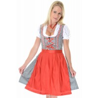 Sound Of Music Dirndl black/red