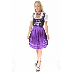 Dirndl Brigitta purple