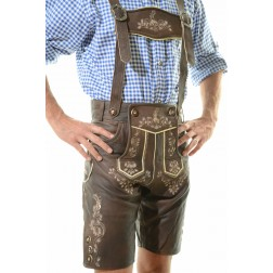 BERLIN LEDERHOSEN - DARK BROWN