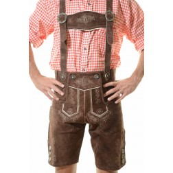 KAISER LEDERHOSEN - DARK BROWN
