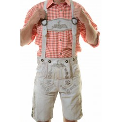 EDELWEISS LEDERHOSEN - ANTIQUE WHITE