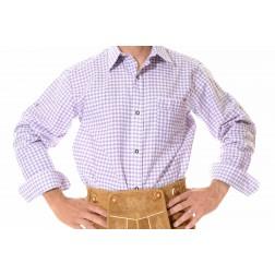 Lederhosen Shirt Purple