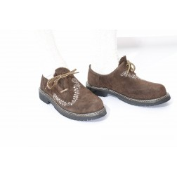 Tracht lederhosen shoes with embroidery