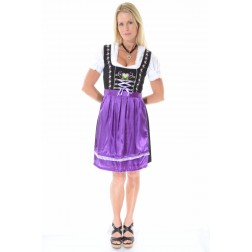 Dirndl Louisa purple