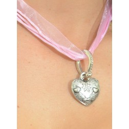 "Necklace ""Heart"" pink"