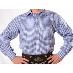 Lederhosen Shirt Blue