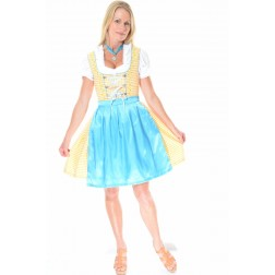 Sound Of Music Dirndl yellow/blue