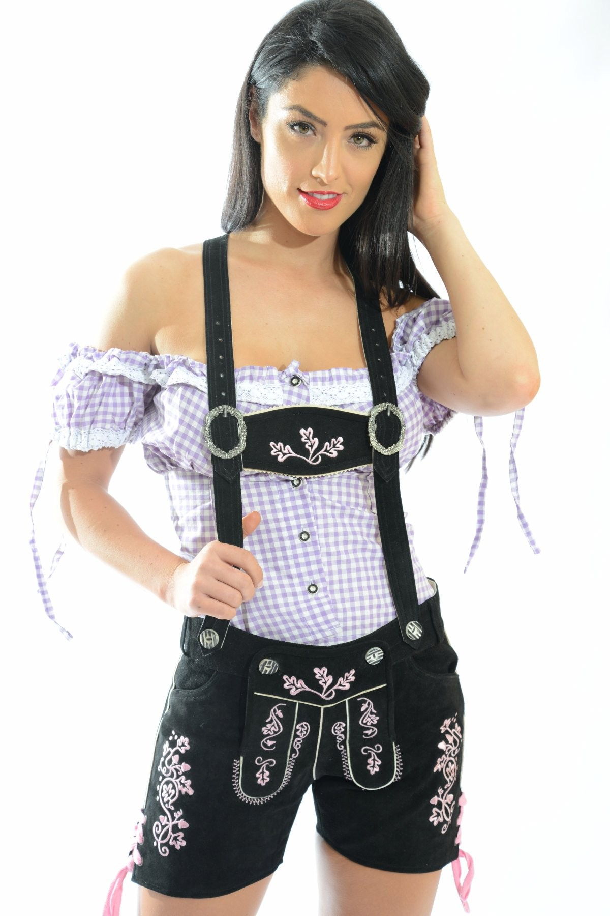 For Women Long Hairstyles And: Female Lederhosen